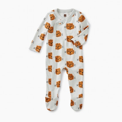 Tea Footed Romper Cuddly Cubs