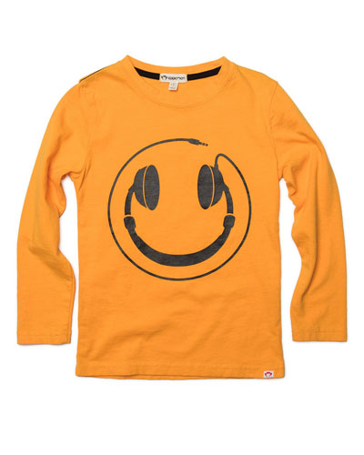 Graphic Long Sleeve Tee Happy Tunes