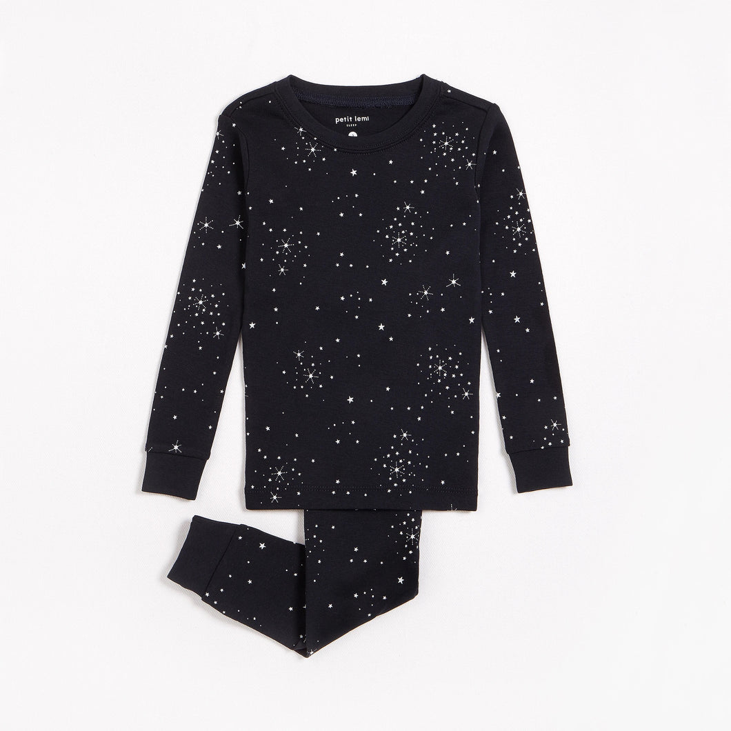 Petit Lem Starry Night Pajamas