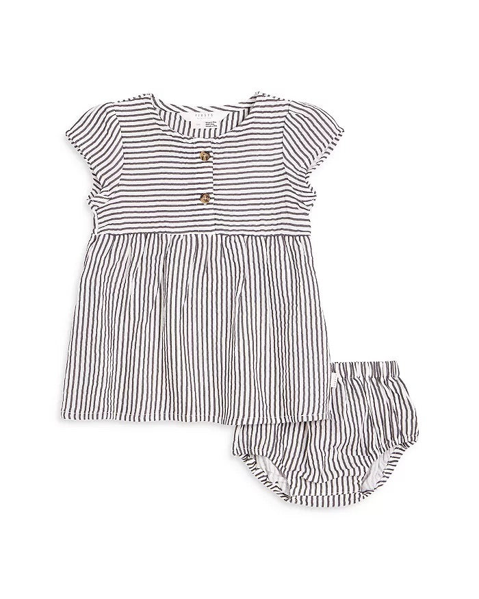 Firsts by Petit Lem Gauze Striped 2-Piece Set