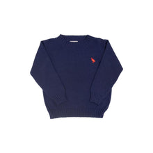 Load image into Gallery viewer, Beaufort Bonnet Isaacs Sweater Nantucket Navy