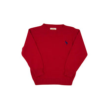 Load image into Gallery viewer, Beaufort Bonnet Isaacs Sweater Richmond Red