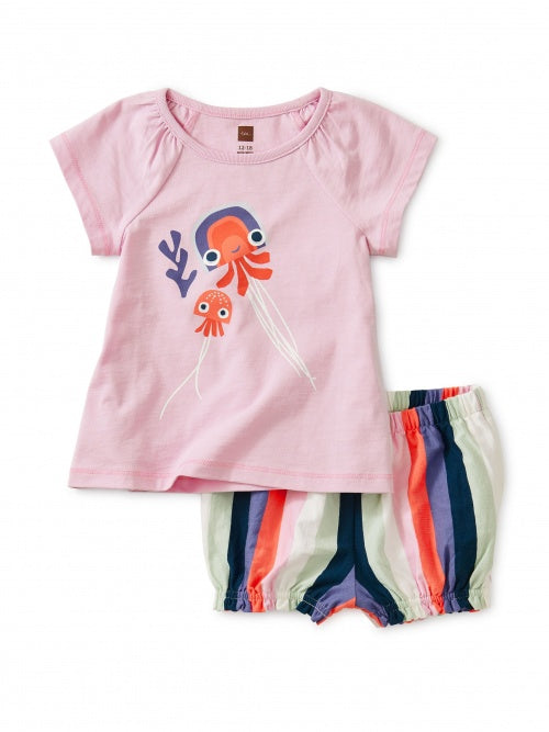 Tea Collection Jellyfish Baby Set