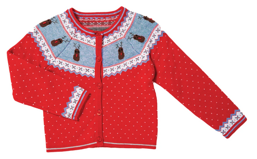 Angel Dear Reindeer Knits Cardigan