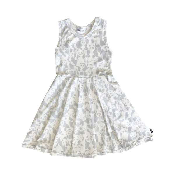 The Mini Classy, Panda Skater Dress - Precious + Posh