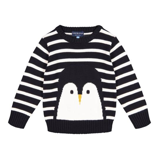 Andy and Evan Penguin Sweater