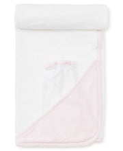 Load image into Gallery viewer, Kissy Kissy New Kissy Dots Towel w/Mitt Pink