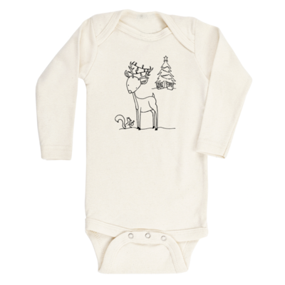 Tenth & Pine Woodland Reindeer Long Sleeve
