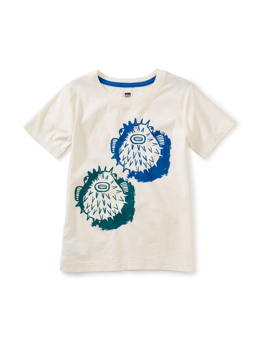 Tea Rough n' Puff UV Graphic Tee Chalk