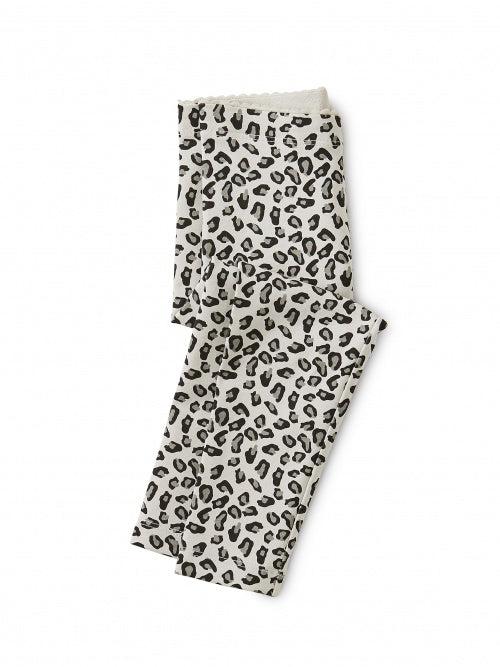 Tea Collection Snow Leopard Baby Leggings