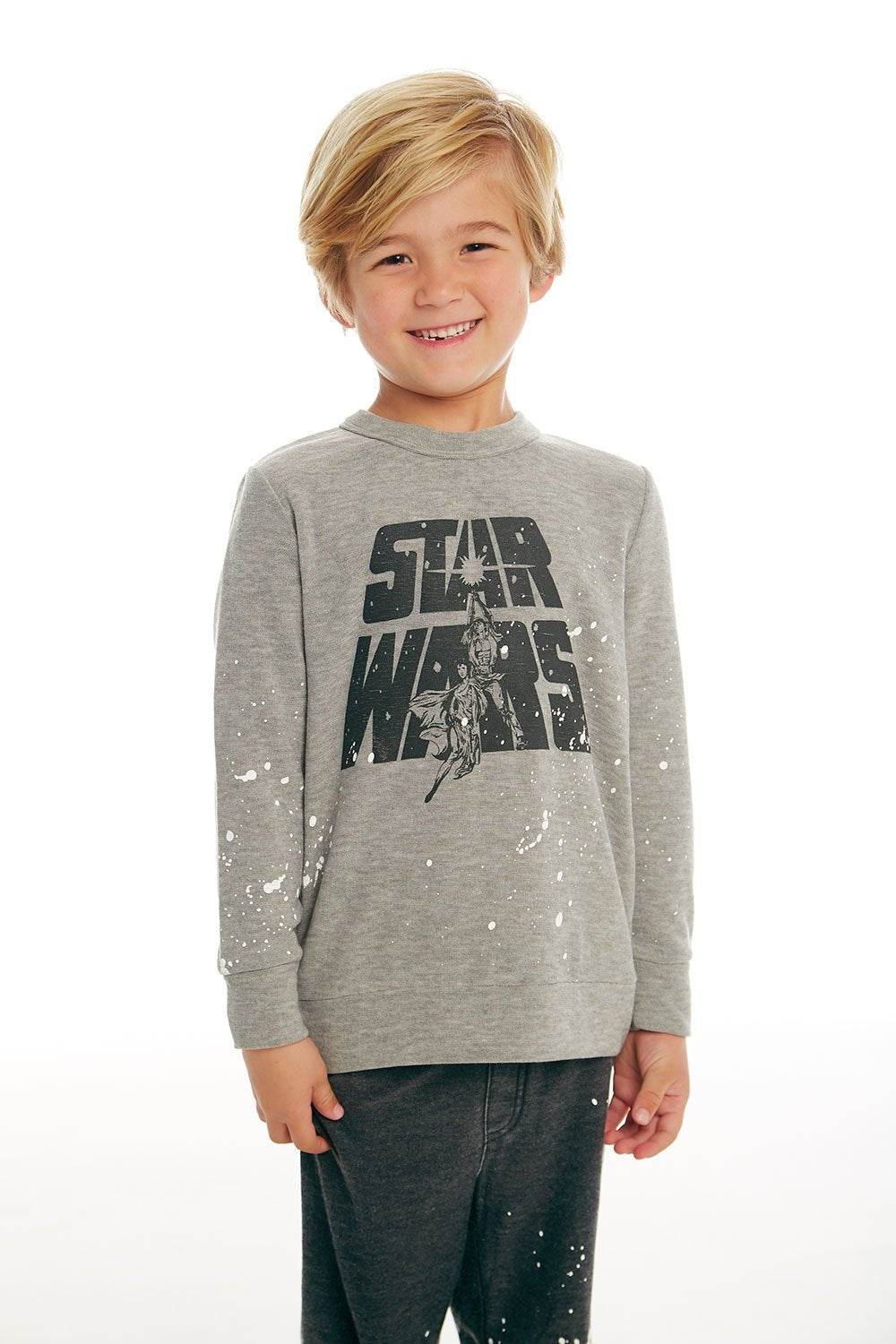 Chaser Star Wars Luke & Leia Sweatshirt