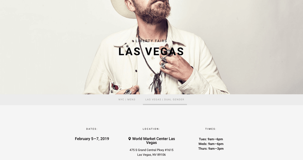 Las Vegas Trade Show - February 2019