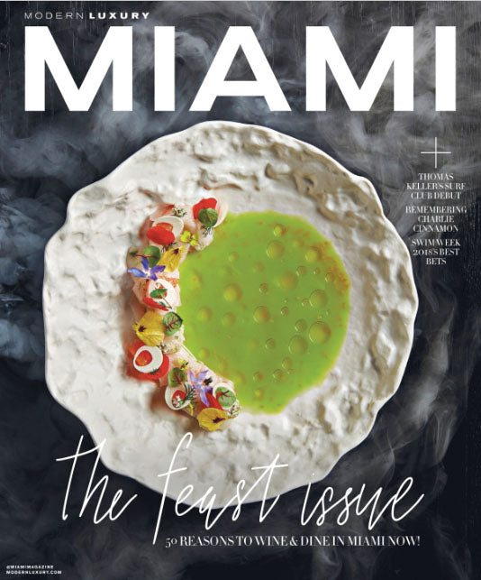 Cover Miami Magazine June 2018