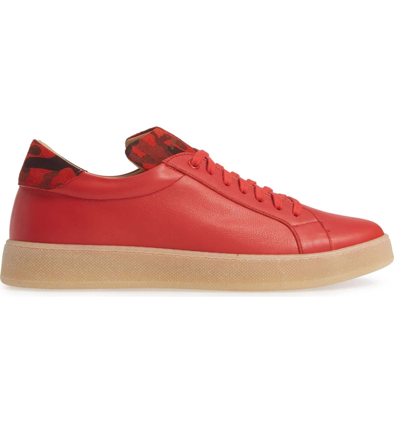 Red Sneakers for Men - side 2828-RDC - Jared Lang