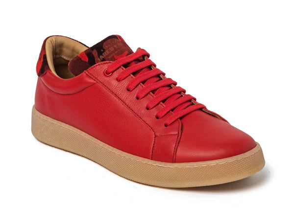 Red Sneakers for Men 2828-RDC - Jared Lang