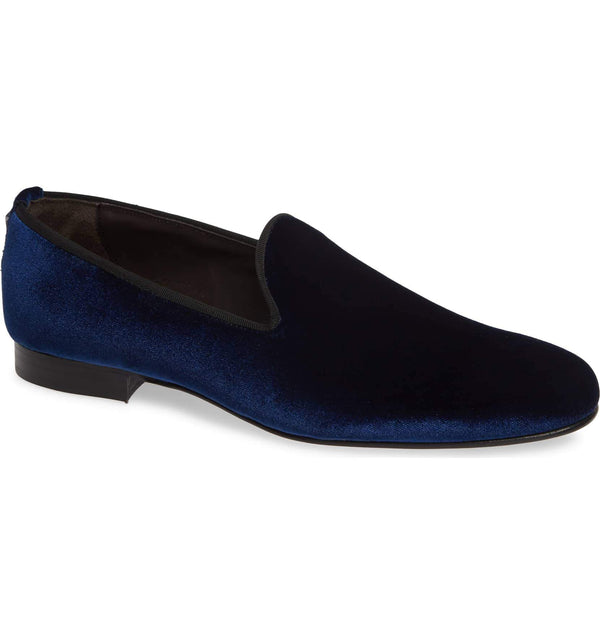 Navy Slippers for Men 533-NVST - Jared Lang