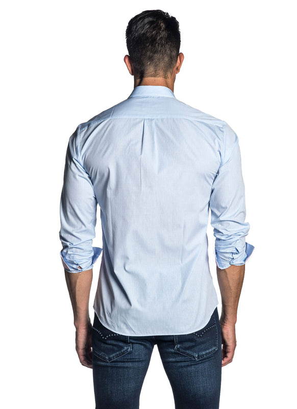 Light Blue Shirt for Men - back AH-C-2007 - Jared Lang