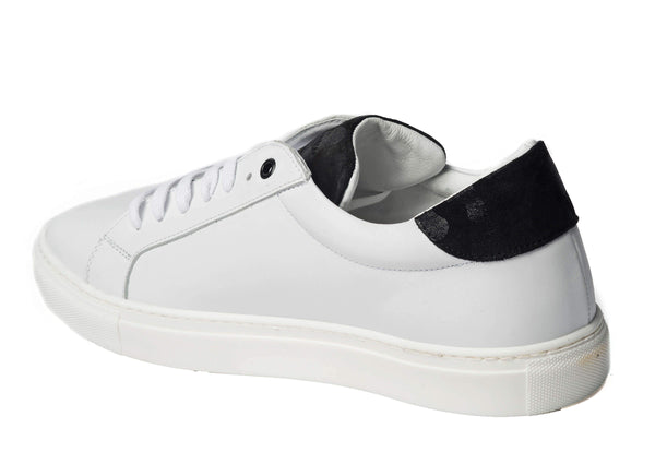 White Sneakers for Men 2828-WCT - left - Jared Lang