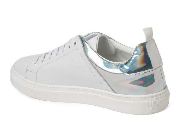 White Sneakers for Men 3838-WR - Main Back - Jared Lang