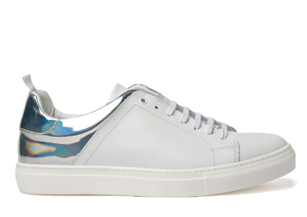 White Sneakers for Men 3838-WR - Side - Jared Lang