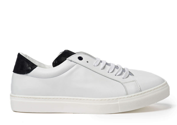 White Sneakers for Men 2828-WCT - Side - Jared Lang