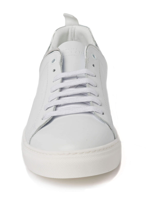 White Reflective Sneakers for Men 3838-WR - Front - Jared Lang