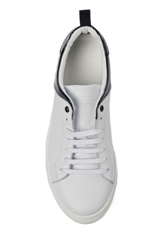 White Black Sneakers for Men - Top 3838-WHB - Jared Lang
