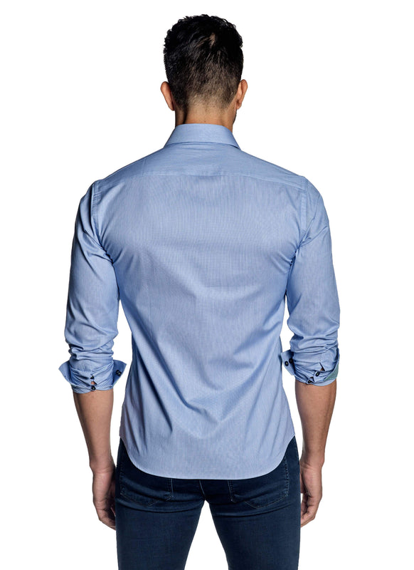 Light Blue Shirt for Men T-141 - Back - Jared Lang