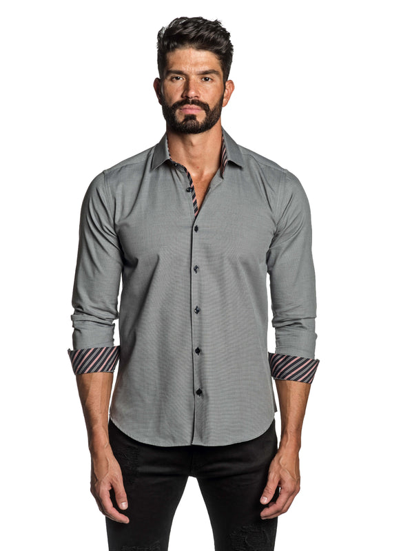 Grey Shirt for Men TW-2692 - Front - Jared Lang