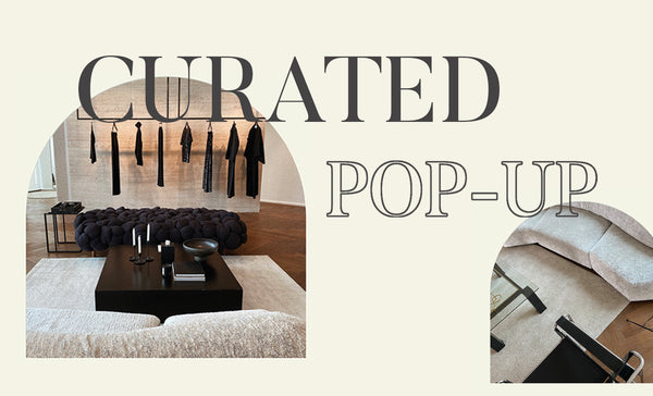The first edition of the CURATED Popup