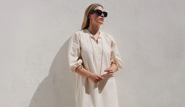 Style Guide: The Organic Cotton Kaftan Dress