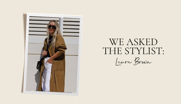 We asked the stylist Laura Brown: How to Style the Sarah Trench Coat