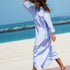 Image 8 of Signature Oversized Cotton Shirt Dress