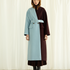 Image 6 of Two Tone Long Coat