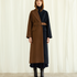 Image 5 of Two Tone Long Coat