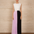 Image 1 of Two-tone Pleated Chiffon Skirt