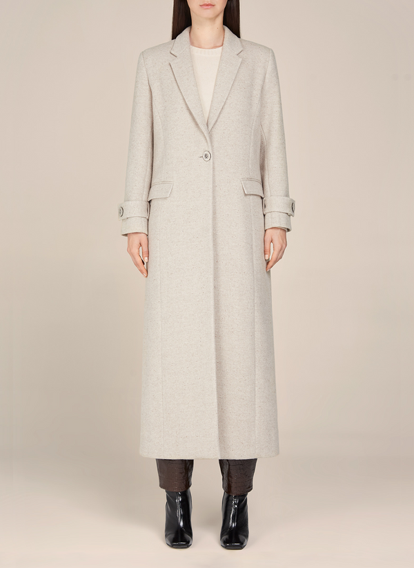 Katherine Straight Long Coat