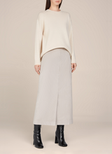 Nadia Corduroy straight skirt