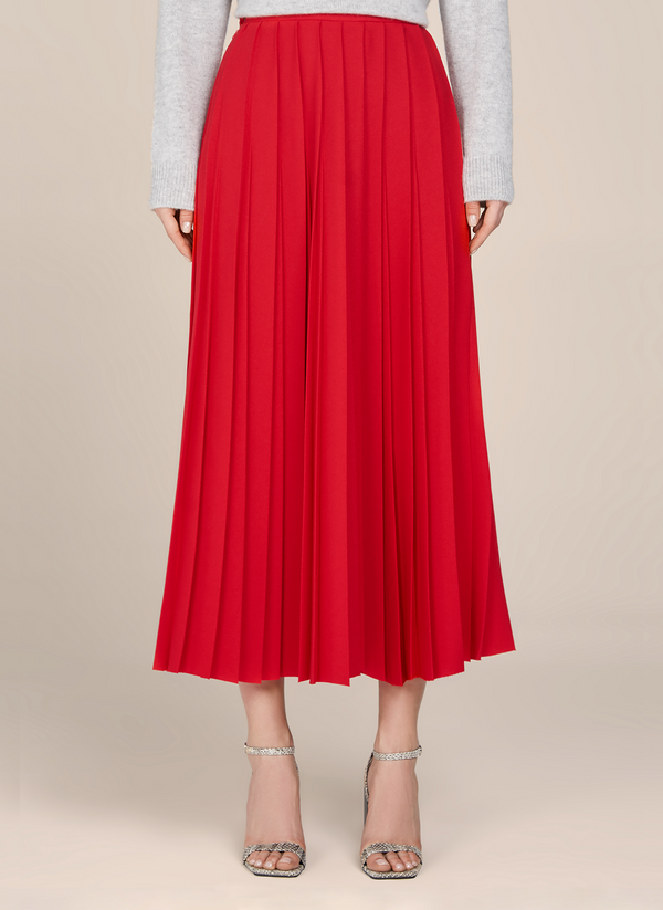 Camille Long Pleated skirt