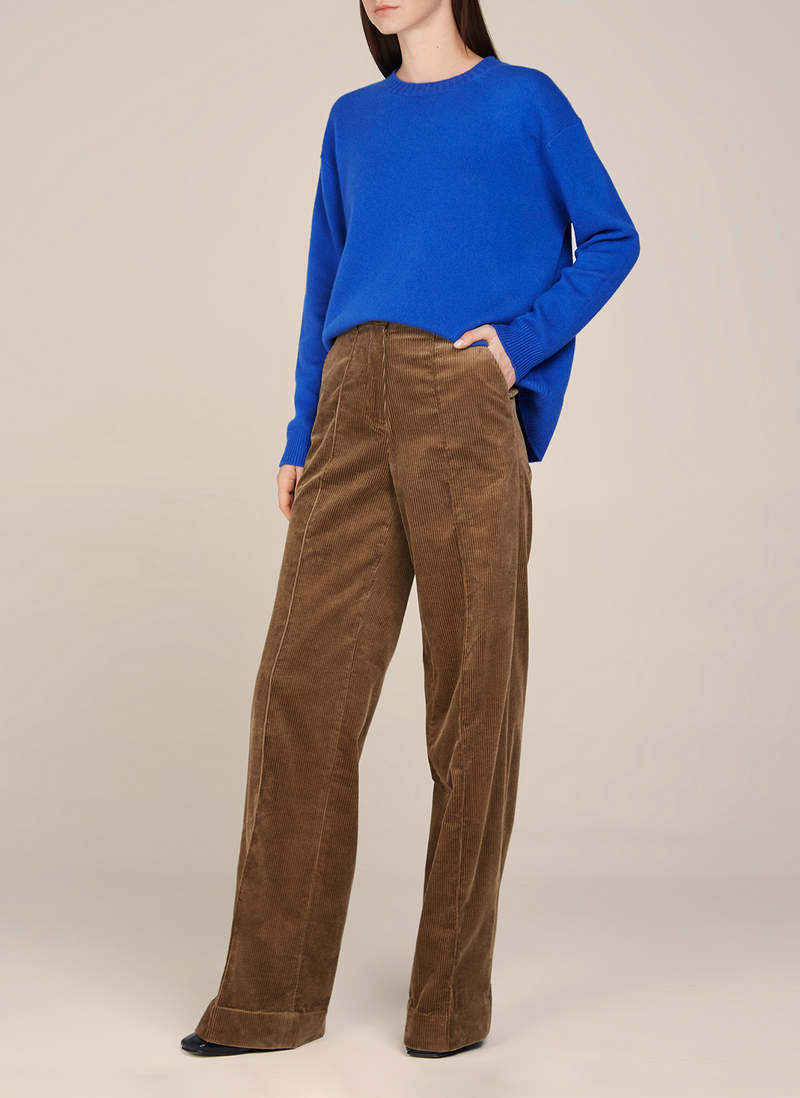 Leila Round Neck Cashmere Sweater