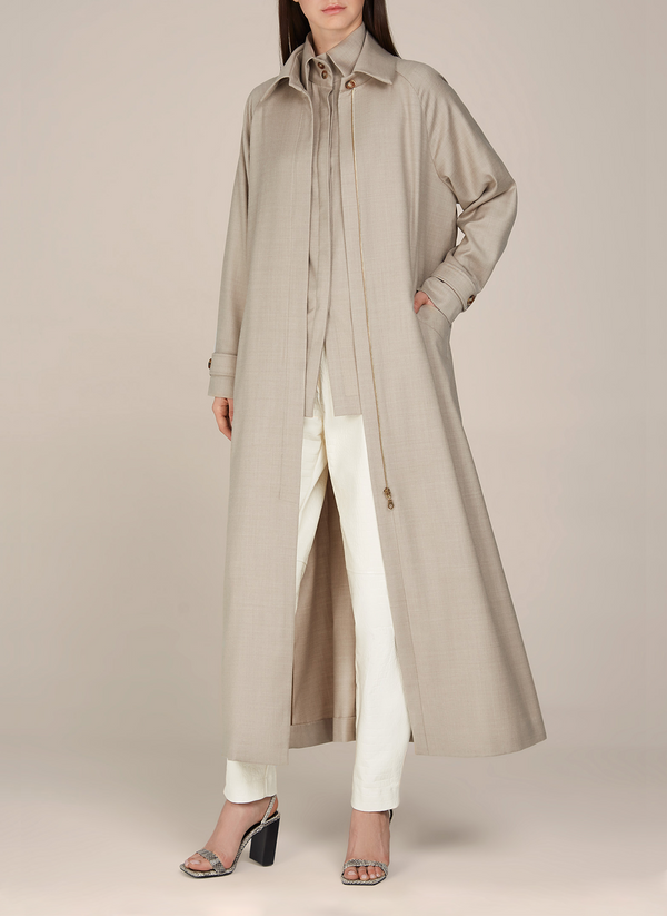 Leonida Light Wool-blend Coat