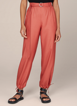 Loose Tie-up Pants