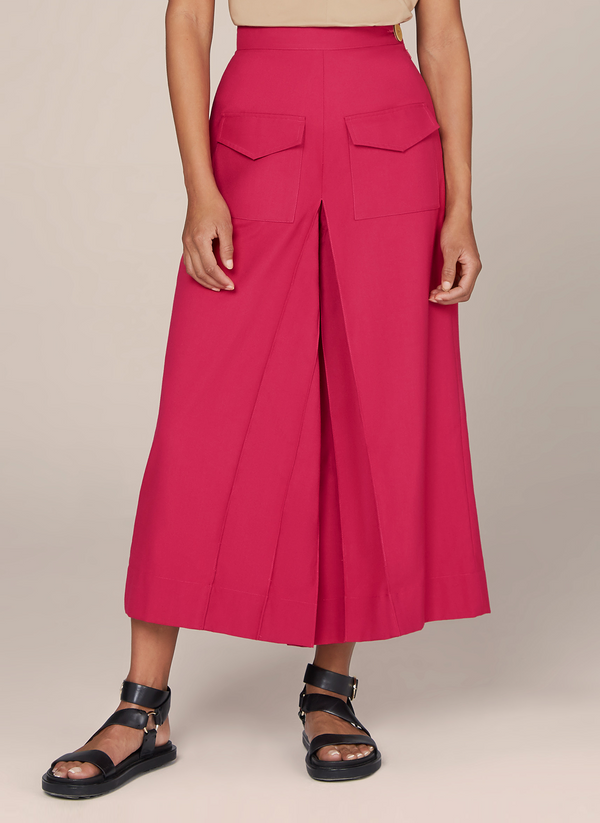 Pleated Jupe Culotte