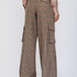 Image 2 of Checked Flaired Pants