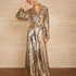 Image 1 of Sequins Robe Dress