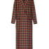 Image 5 of Checked Long Blazer