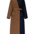 Image 7 of Two Tone Long Coat