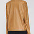 Image 2 of Leather Turtleneck Top