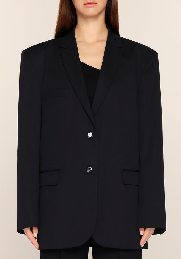 Gemma Oversized Blazer in Black