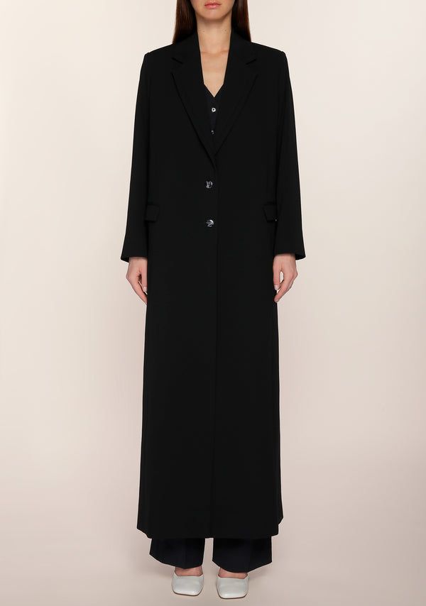Salama Long Blazer in Black